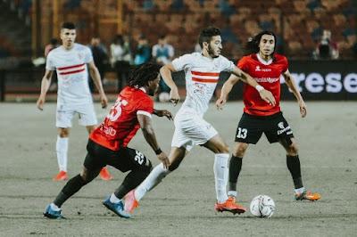 ملخص واهداف مباراة الزمالك وطلائع الجيش (2-1) في الدوري المصري
