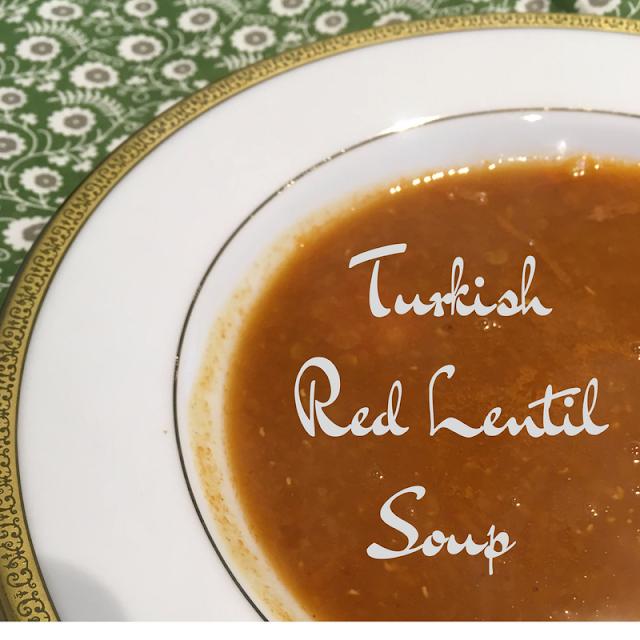 gluten free red lentil soup