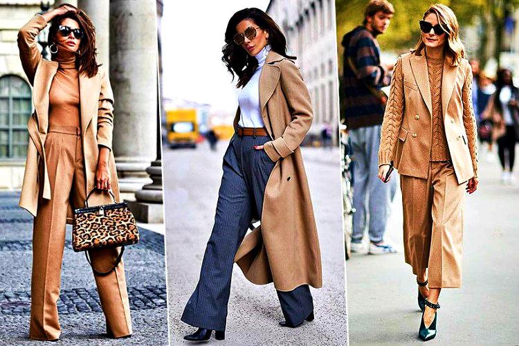 Mükemmel görünmek için çabalayan birçok kadının modası geçmeyen bej renk bir kıyafeti mutlaka vardır