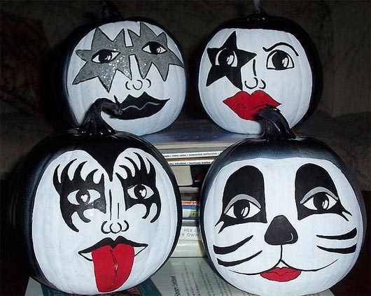 Kiss Halloween Face Paint