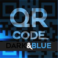 QR CODE - Dark & Blue