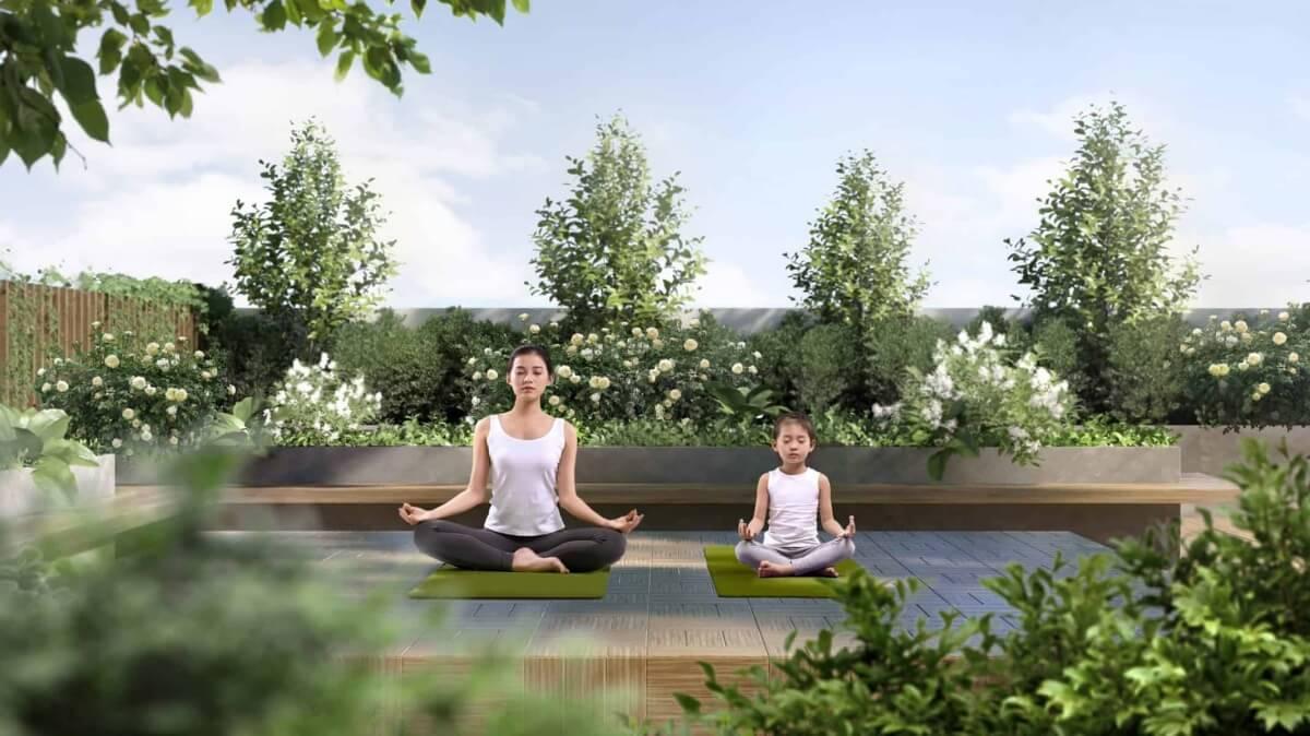 Khu yoga dự án Mipec