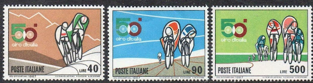 Italy 1967 The 50th Anniversary of Giro d'Italia