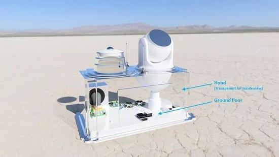 L'unità Sky Hub consiste in una tecnologia di livello consumer, accoppiata con un microcomputer costruito per l'apprendimento automatico e l'intelligenza artificiale.