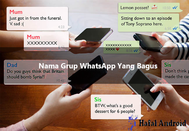 √ 100+ Nama Grup WhatsApp Yang Bagus (Terbaru 2020)