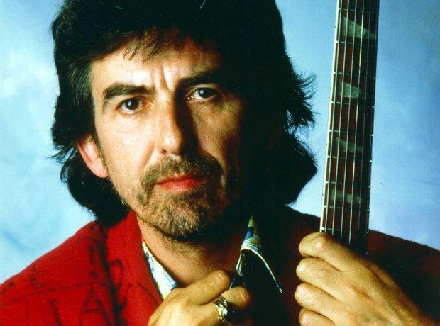 GEORGE HARRISON -  a Hindu-American, lead guitarist of the Beatles.