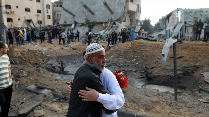 Over 100 Palestinians, 7 Israelis Killed As Fight Between Israel And Hamas Enters Fifth Day