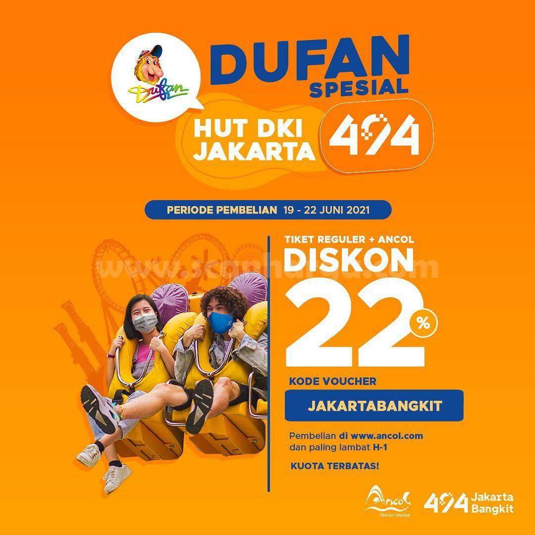 DUFAN Promo Spesial HUT JAKARTA