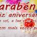 Mensagem de Aniversário Meus Parabéns