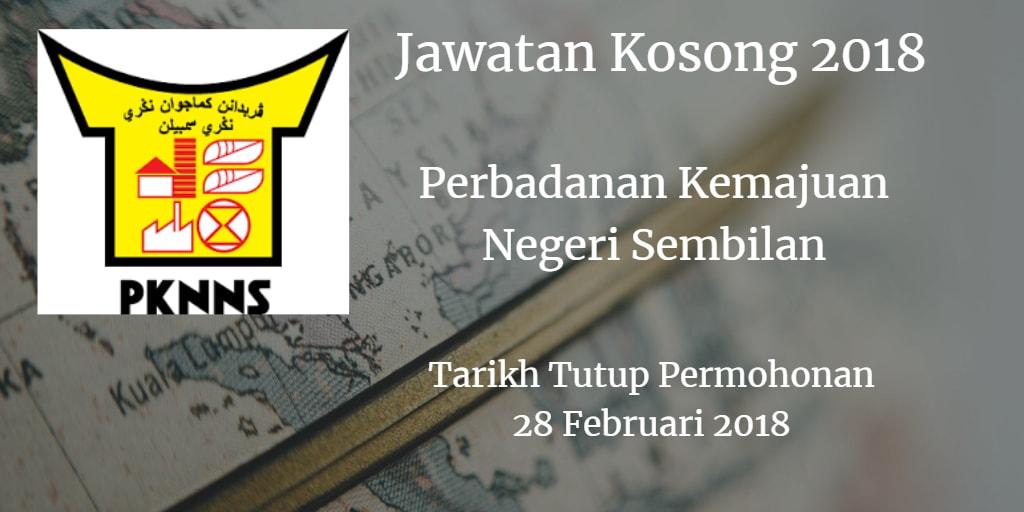 Jawatan Kosong PKNNS 28 Februari 2018