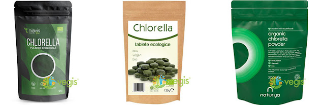 chlorella ecologica vegis