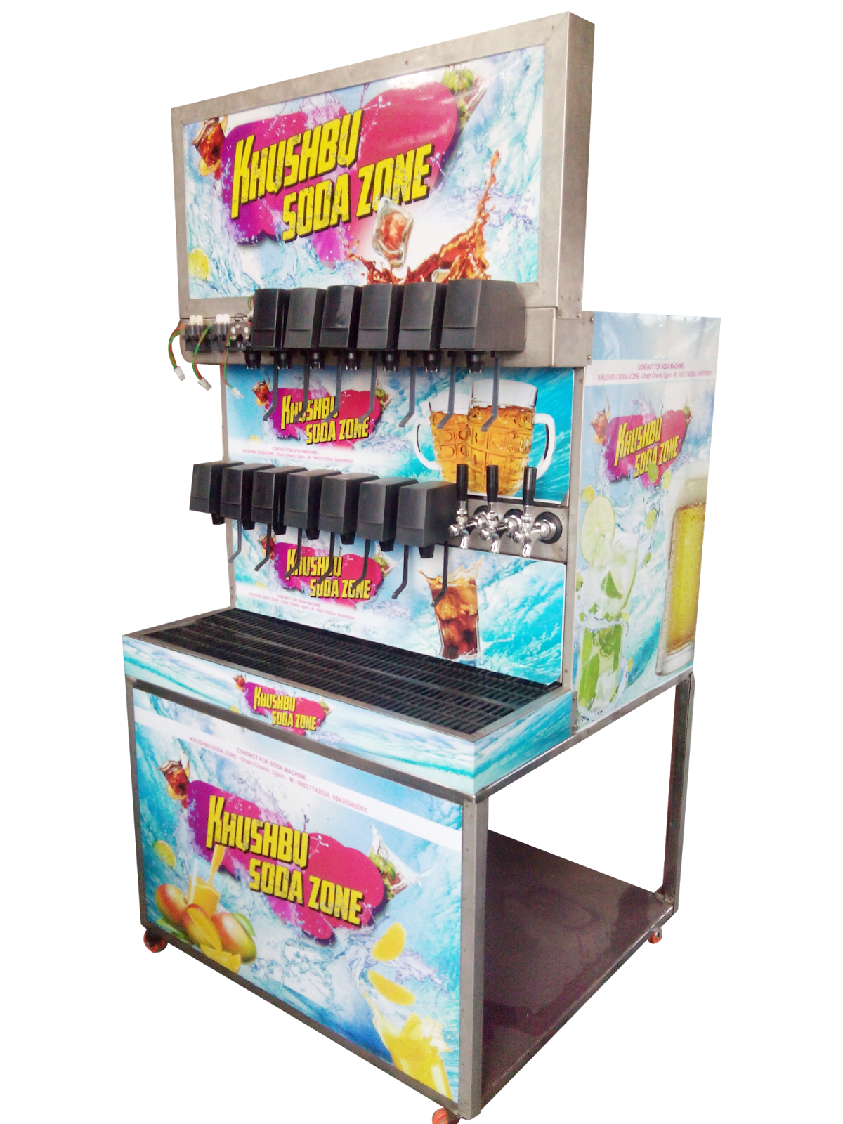 soda machine manufacturers