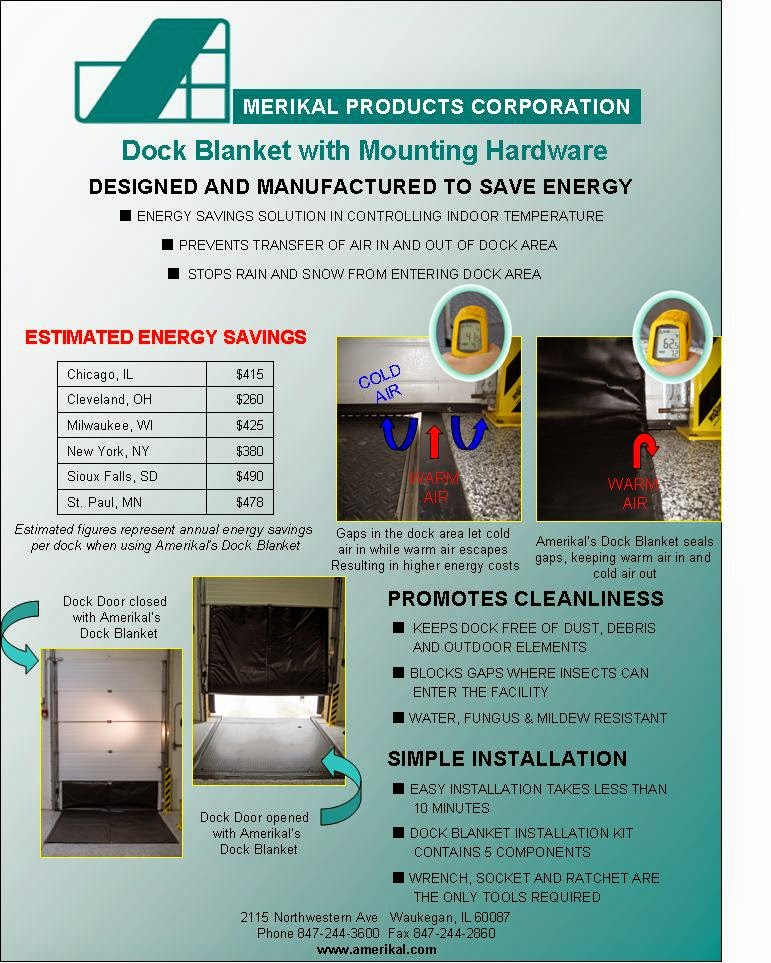 energy saving dock blanket