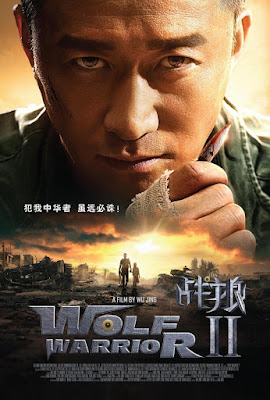 Wolf Warrior 2 2017 DVD R1 NTSC Latino