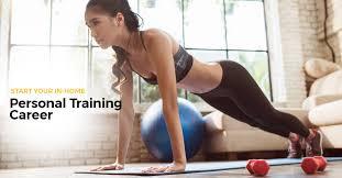 Career in fitness training