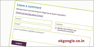 Comment on Other Blogs to get visitors