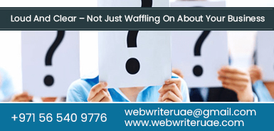 Web Writer UAE