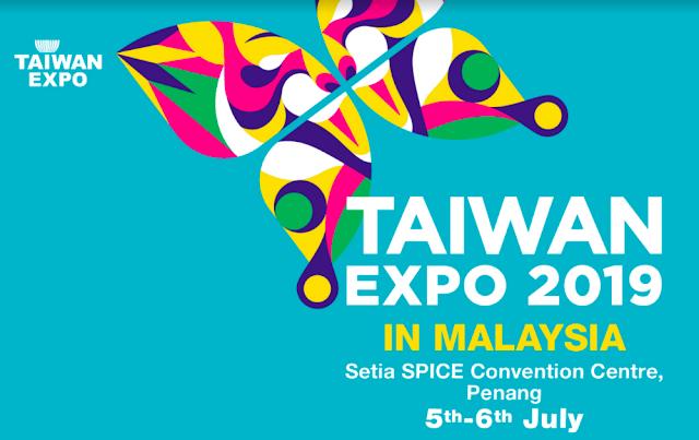 Taiwan Expo 2019 Malaysia Setia SPICE Penang