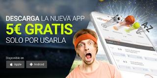 luckia Consigue 5 euros por descargar nueva app y usarla