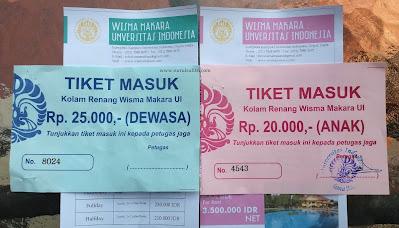 tiket masuk anak dewasa kolam renang wisma makara ui universitas indonesia nurul sufitri blogger mom lifestyle kesehatan olah raga