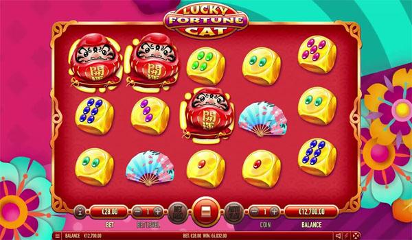 Main Gratis Slot Indonesia - Lucky Fortune Cat Habanero