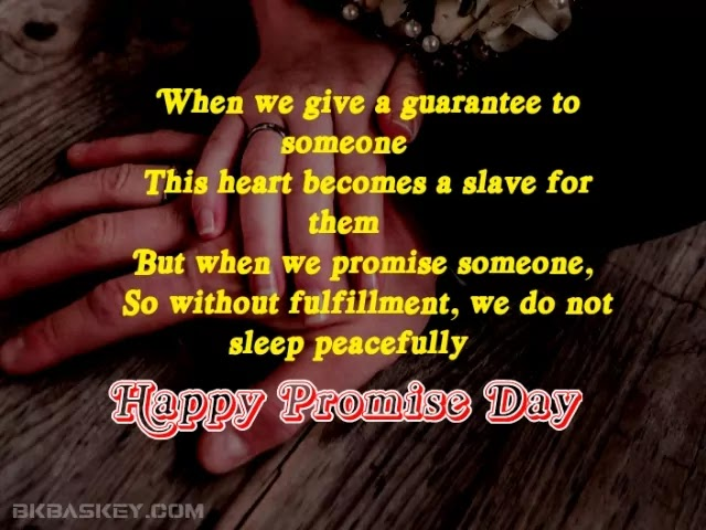 Best latest promise day love status for gf bf