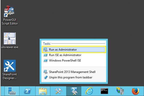 run as administrator powershell script