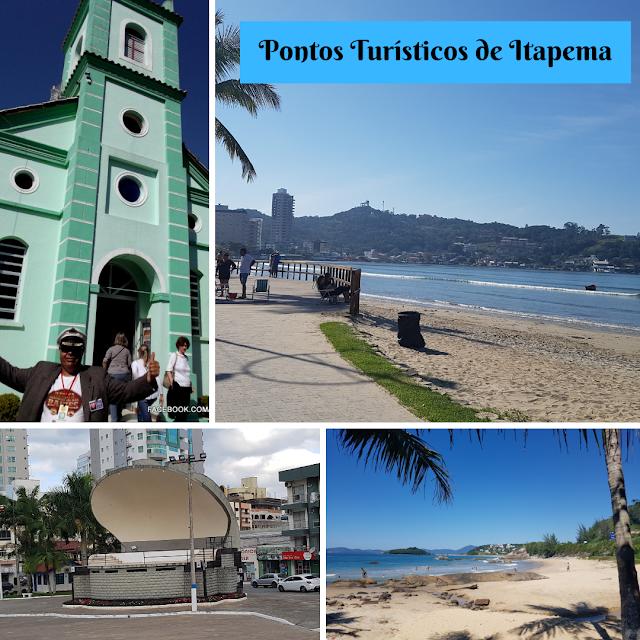 Pontos Turísticos de Itapema #borapassear