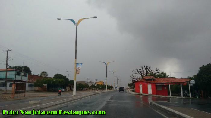 Chuvas em Varjota