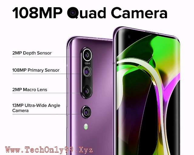 Mi 10 5G Mobile Price in India - 108 Megapixel Camera & Specifications