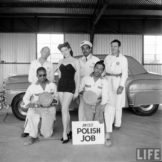 Muller Bros Car Wash, 1951 ~ vintage everyday