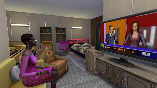 Sims 4 Discover University Wyvern Hall Bedroom