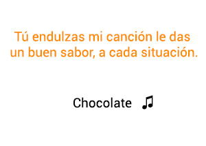 Jesse Joy Chocolate significado de la canción.