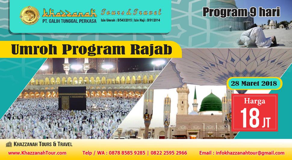 Khazzanah Tours Umroh Rajab