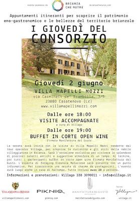 """Foraging e Buffet in Corte con Open Wine per """"i Giovedi del Consorzio"""""""
