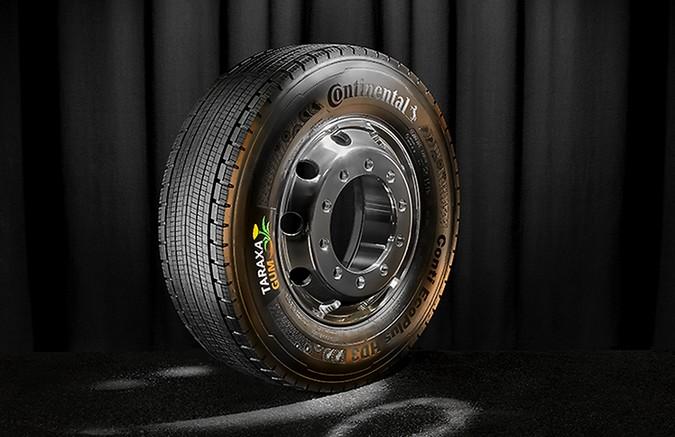 Continental investe em pneus sustentáveis