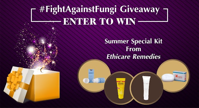 Win Summer Kit from Ethicare Remedies - #FightAgainstFungi Giveaway