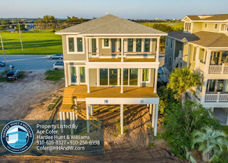 New Construction Home by PBC Design + Build for Sale at Wrightsville Beach