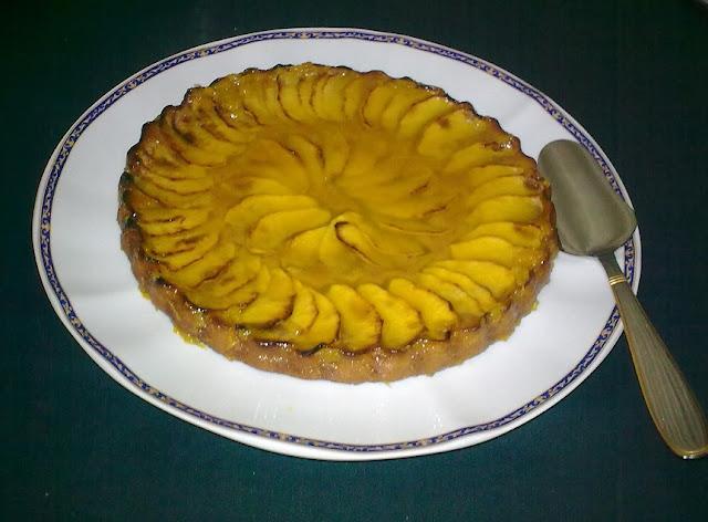 Tarta de Manzana Vegana