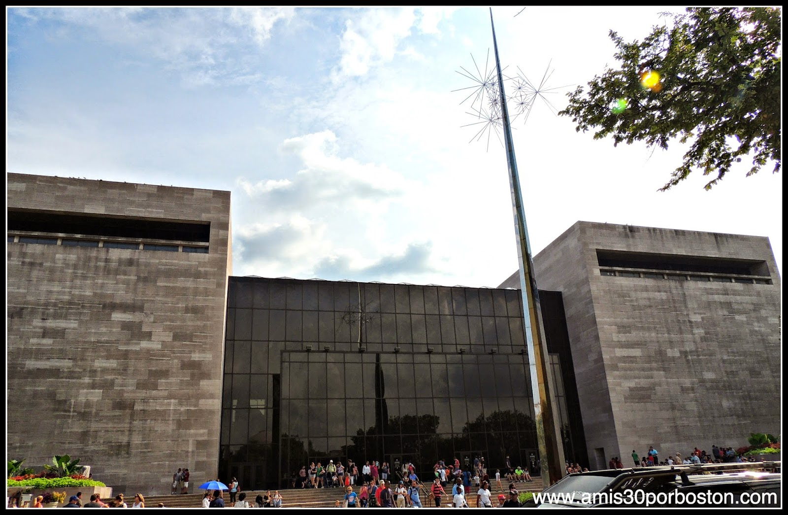 Museo Nacional del Aire y el Espacio de Estados Unidos en el National Mall de Washington D.C.