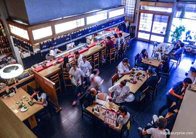 Restaurante japonês em São Paulo: Sushi Lika