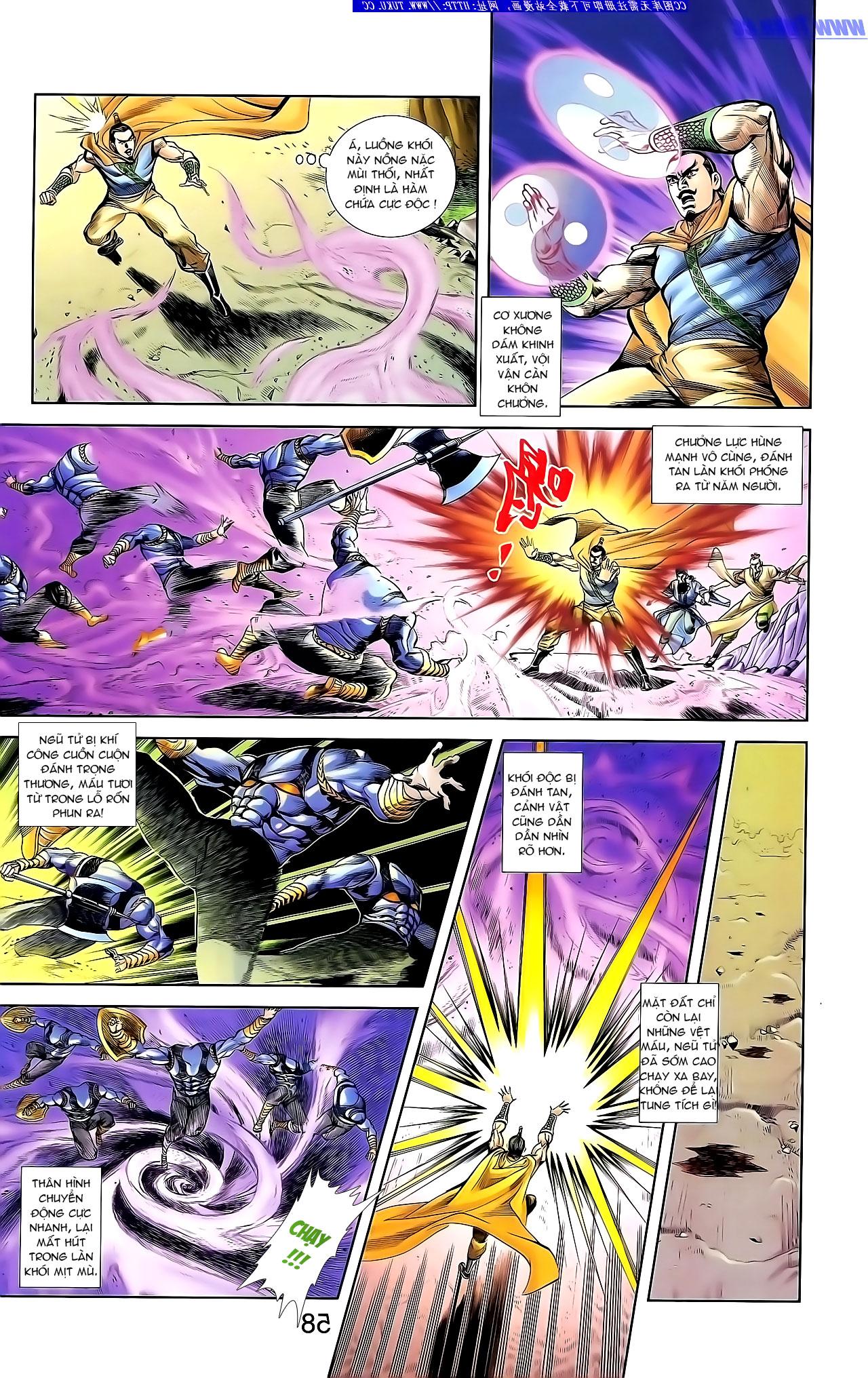 Cơ Phát Khai Chu Bản chapter 134 trang 10