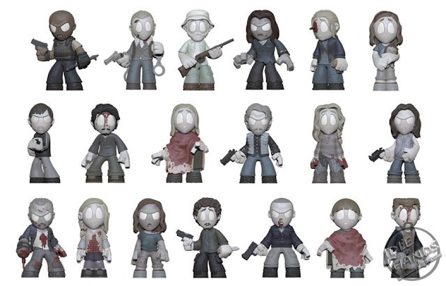 Toy Fair 2017 Funko The Walking Dead In Memoriam Mystery Minis