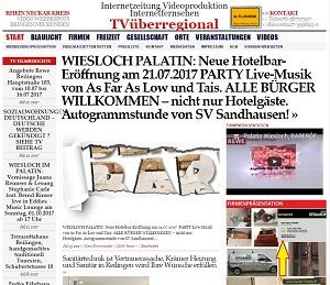 WIESLOCH PALATIN: Neue Hotelbar-Eröffnung am 21.07.2017 PARTY Live-Musik von As Far As Low und Tais. ALLE BÜRGER WILLKOMMEN – nicht nur Hotelgäste. Autogrammstunde von SV Sandhausen!