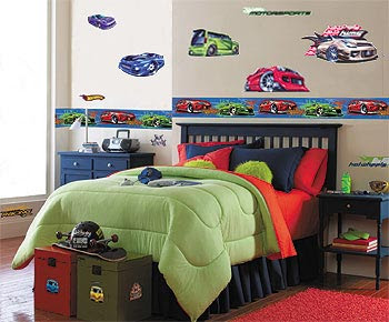 Car Boy's Bedroom Decor Ideas