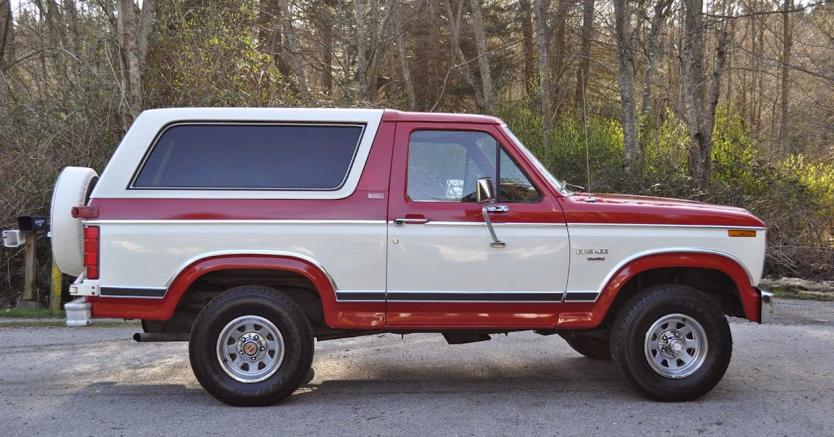 All American Classic Cars: 1982 Ford Bronco XLT Lariat 4x4