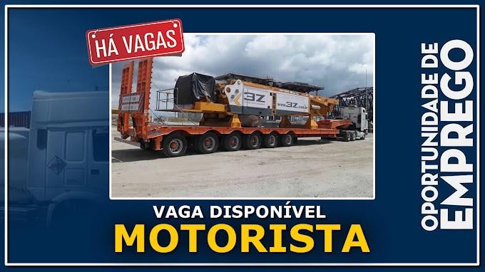 Transportadora Ultrex abre vagas para Motorista caminhão