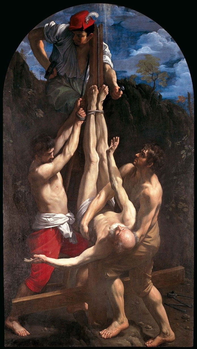 Guido Reni. crucifixion-of-st-peter