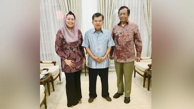 Yenny Wahid Dukung Apapun Keputusan Mahfud MD