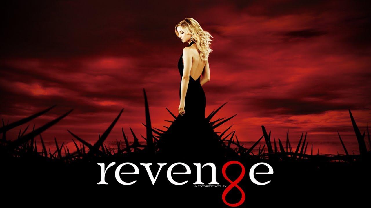 Poster promocional de Revenge con Emily VanCamp